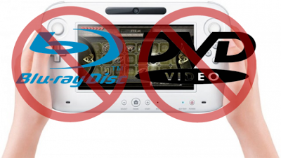 Ingen film i Wii U