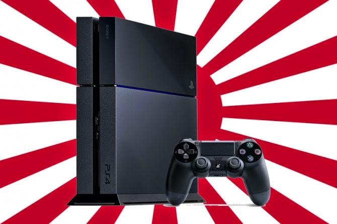 Rekordvecka för PS4 i Japan