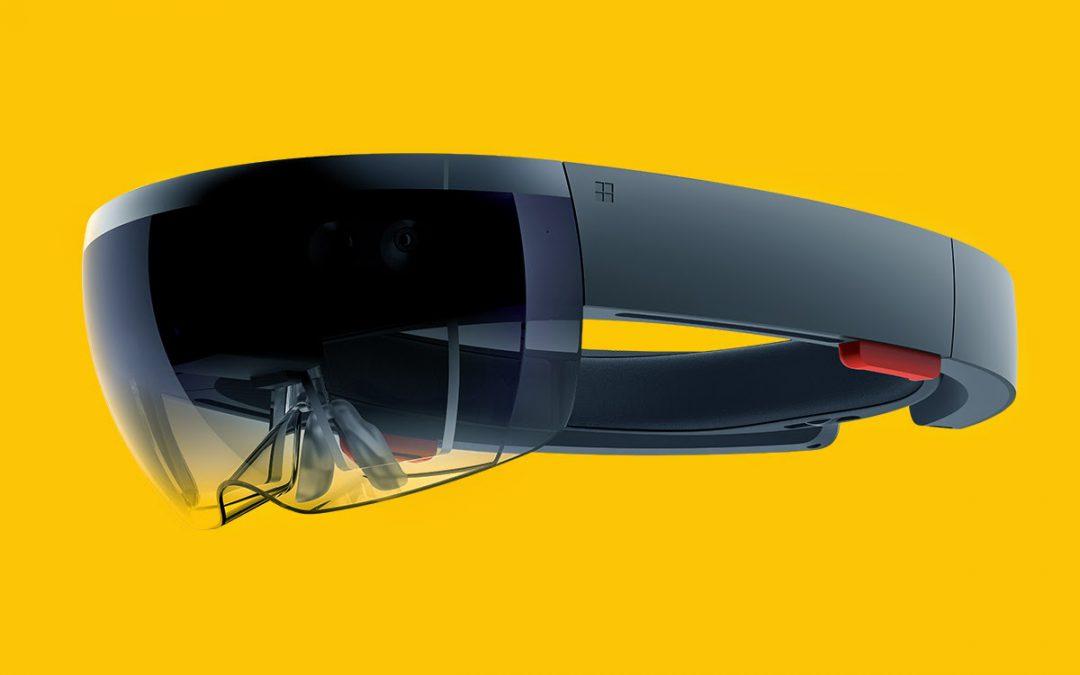 Microsoft visar upp HoloLens