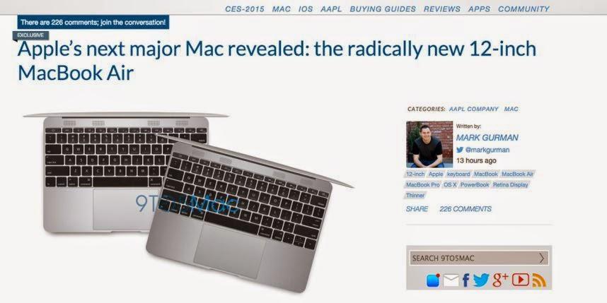 Rykte: Ny supertunn Macbook