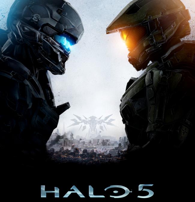 Det här är omslaget till Halo 5