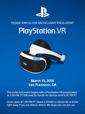 Sony visar upp PlayStation VR