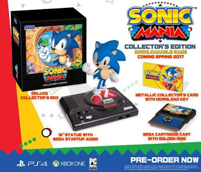 Sega släpper samlarutgåva av Sonic Mania