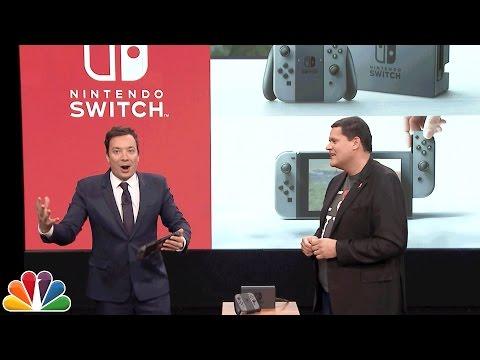 Nintendo visar Switch hos Jimmy Fallon