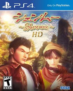 Sega registrerar Shenmue HD