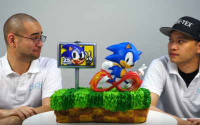 First 4 Figures visar ny Sonic