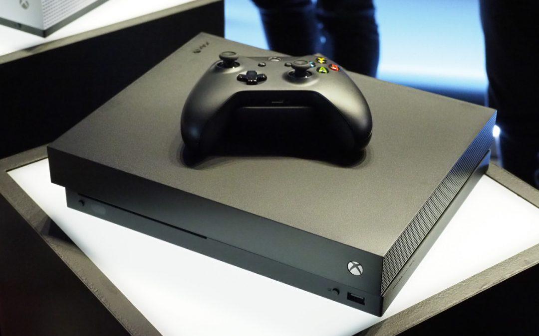 Xbox One X verkar leverera