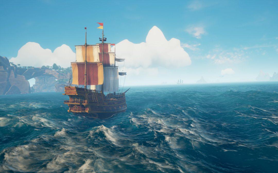 Sea of Thieves delar spelvärlden