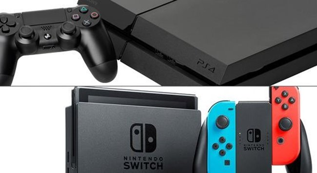 PS4 och Switch når milstolpe