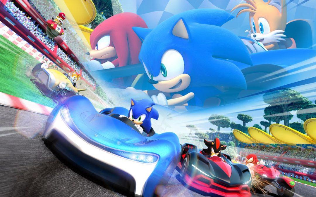 Peppad för Team Sonic Racing