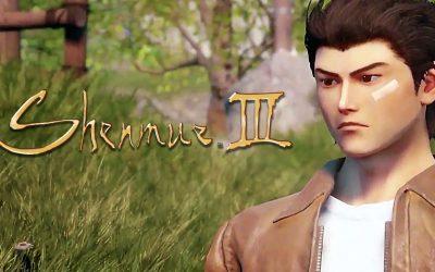 Turbulent runt Shenmue III