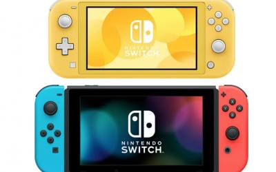 Switch Lite ersätter 3DS