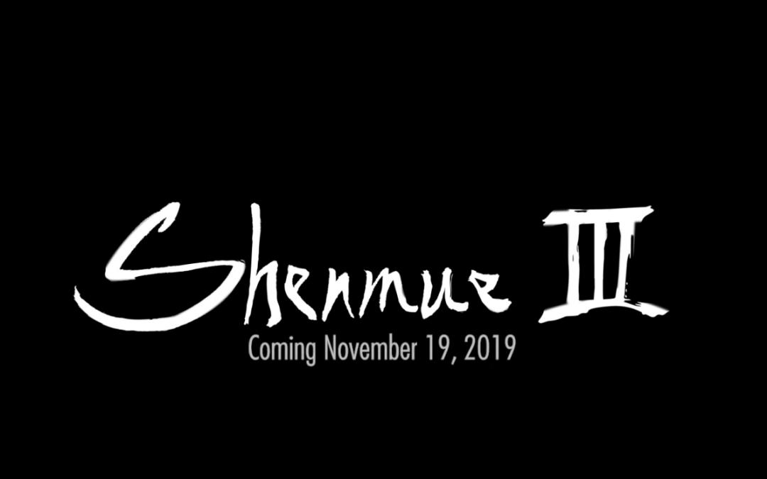 Shenmue III bara två månader bort