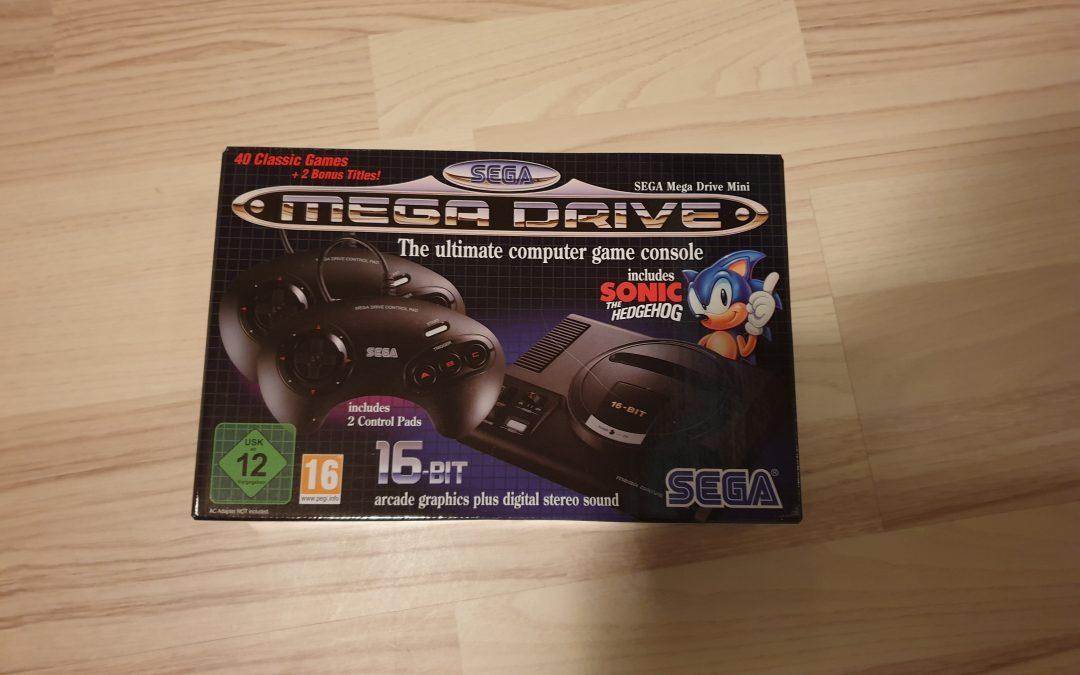Mega Drive Mini har anlänt
