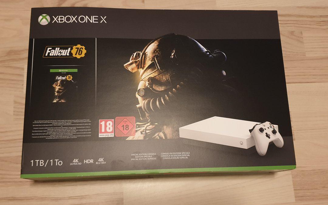 Det blev en Xbox One X till slut