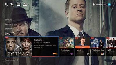 PlayStation Vue en ny streamingtjänst