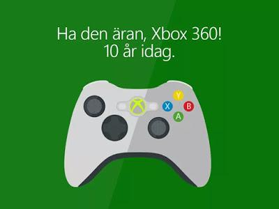 Xbox 360 – tio år senare