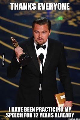 Äntligen, DiCaprio!