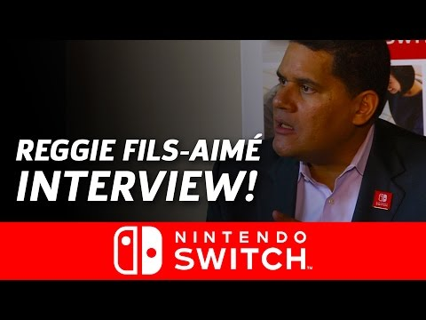 Reggie Fils-Aime om Switch
